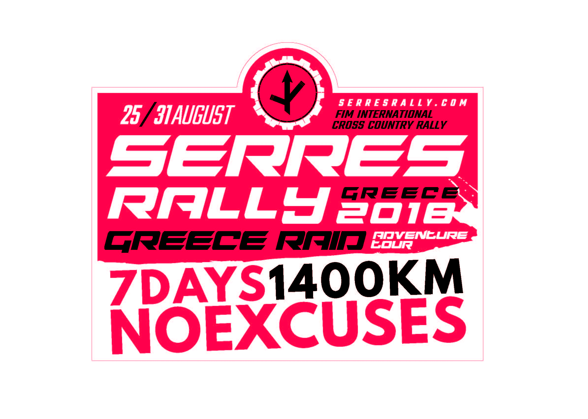 SR NoExcuses stickers 2018 all Page 02